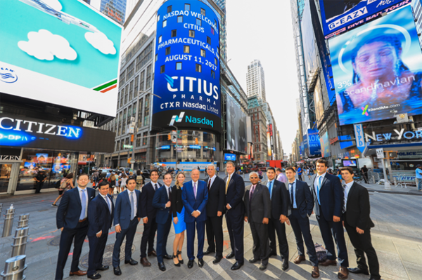 Citius Pharmaceuticals (NASDAQ: CTXR) Successfully Raises $10 Million