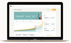Wealthsimple dashboard design